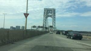 The George Washington Bridge, NY