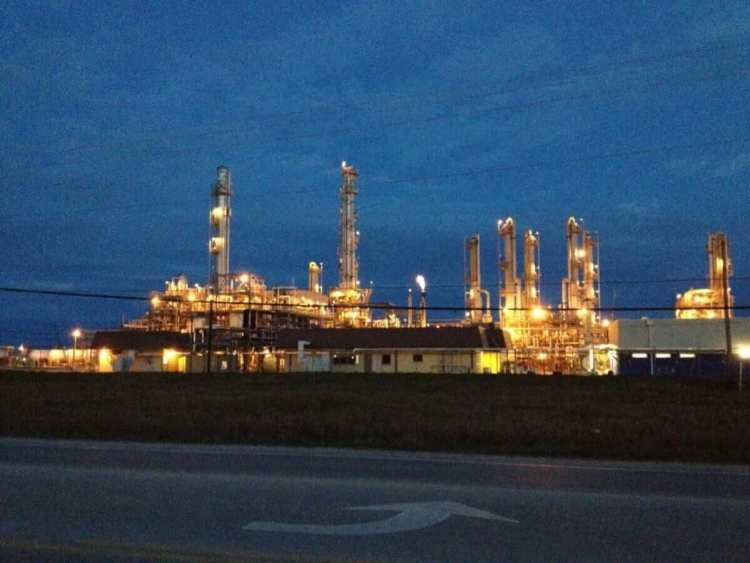 The DowDupont Chemical at Freeport