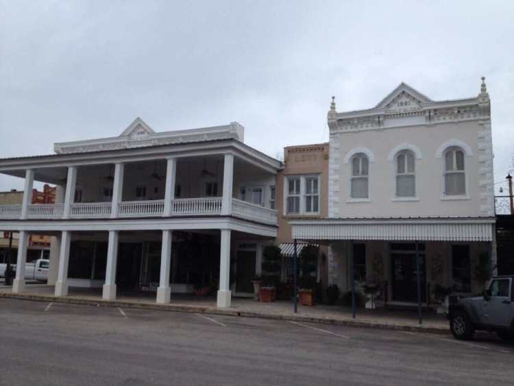 Houses in Goliad Town Center