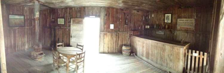 The Entrance to Judge Roy Bean's Courtroom