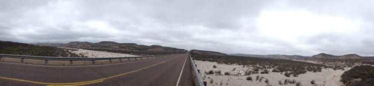 A bridge along Highway 90