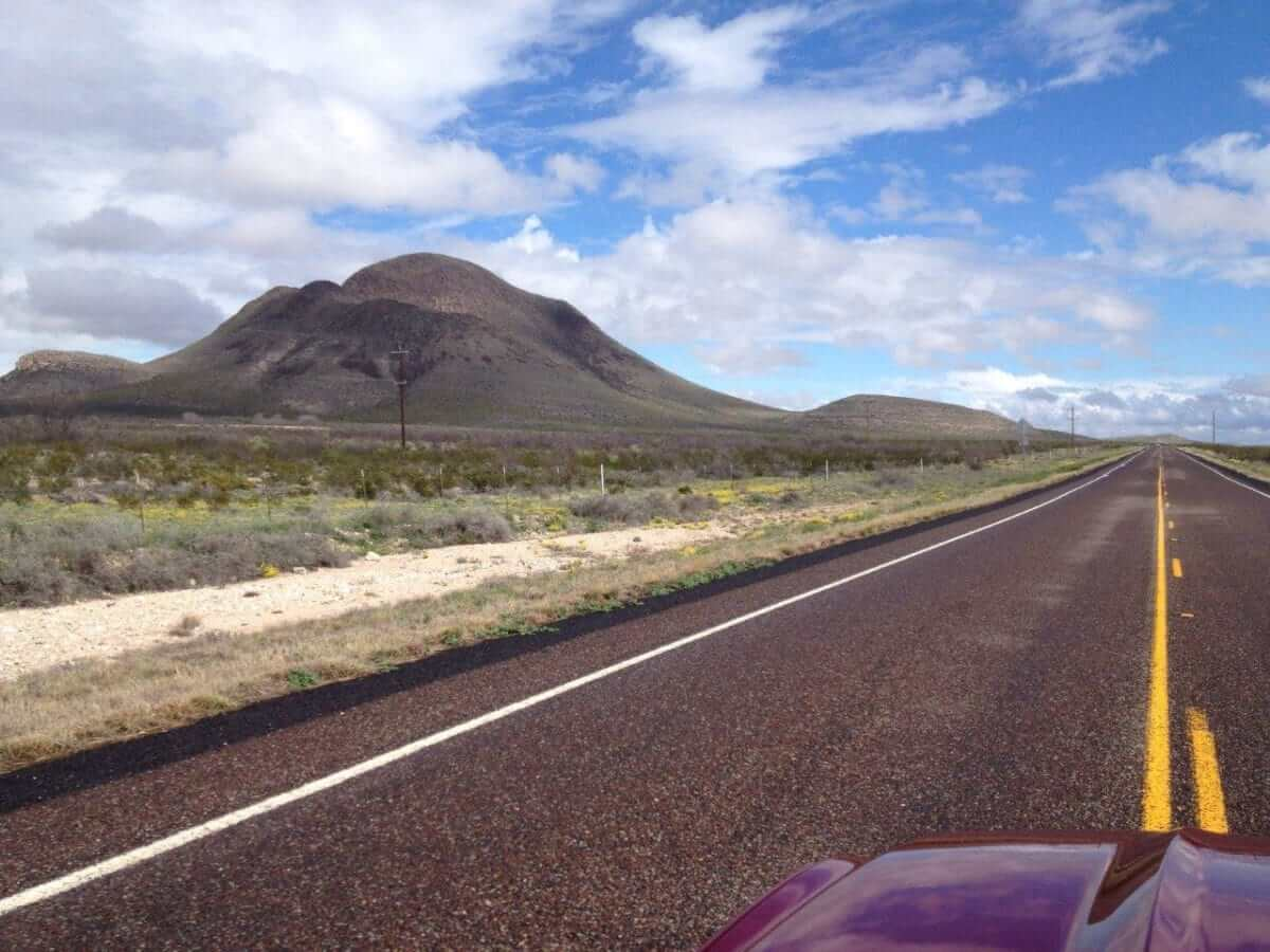 Driving in Big Bend