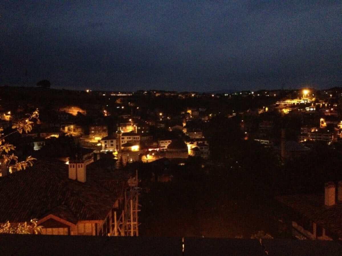Safranbolu Medieval Streets at Night