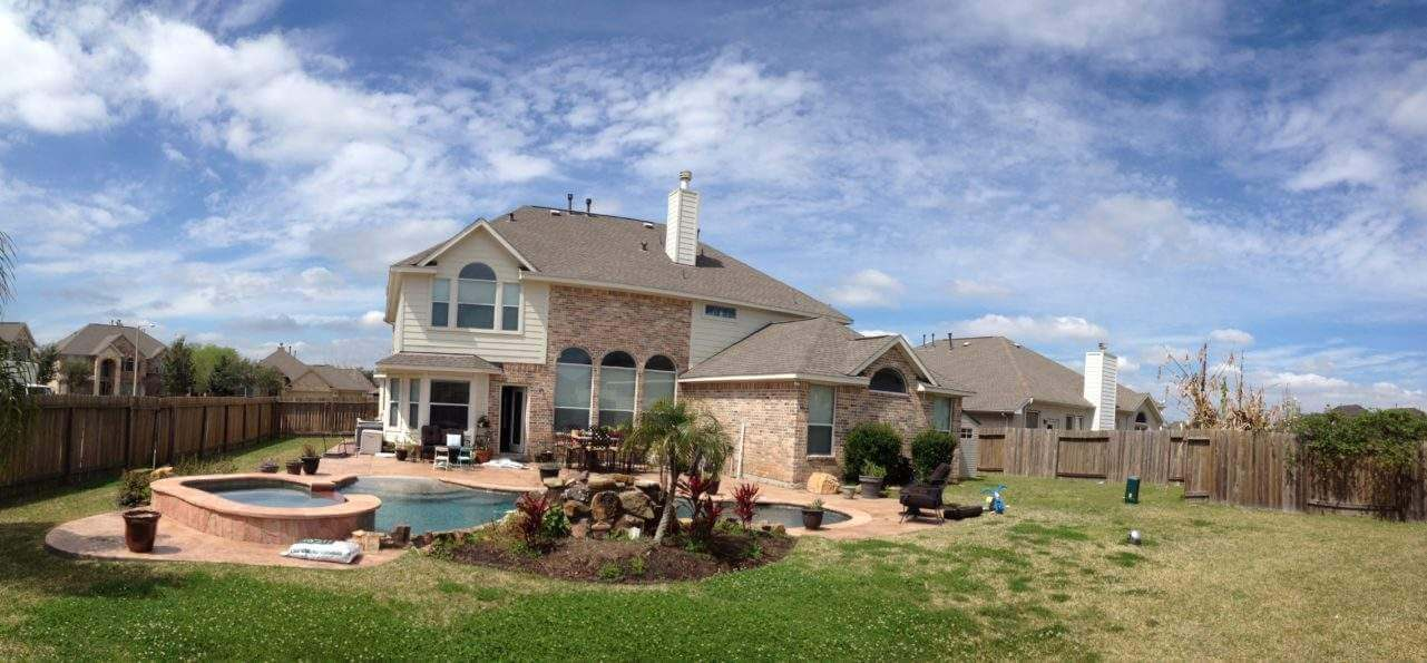 Typical Texas House