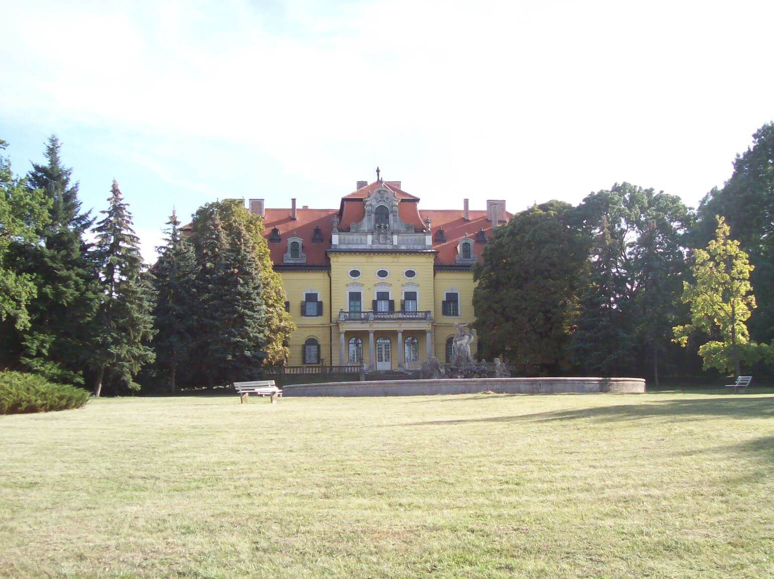 The Károlyi Palace from the back