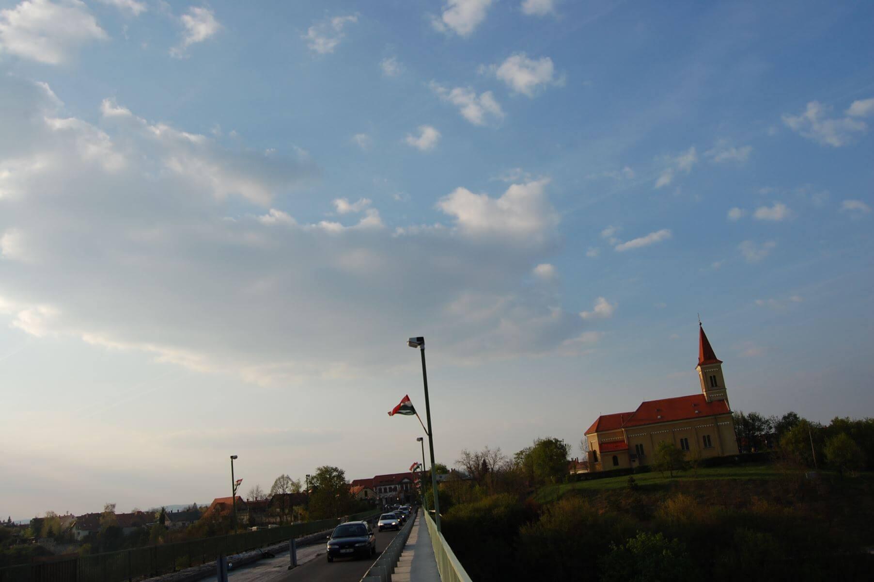 Bridge in Veszprém