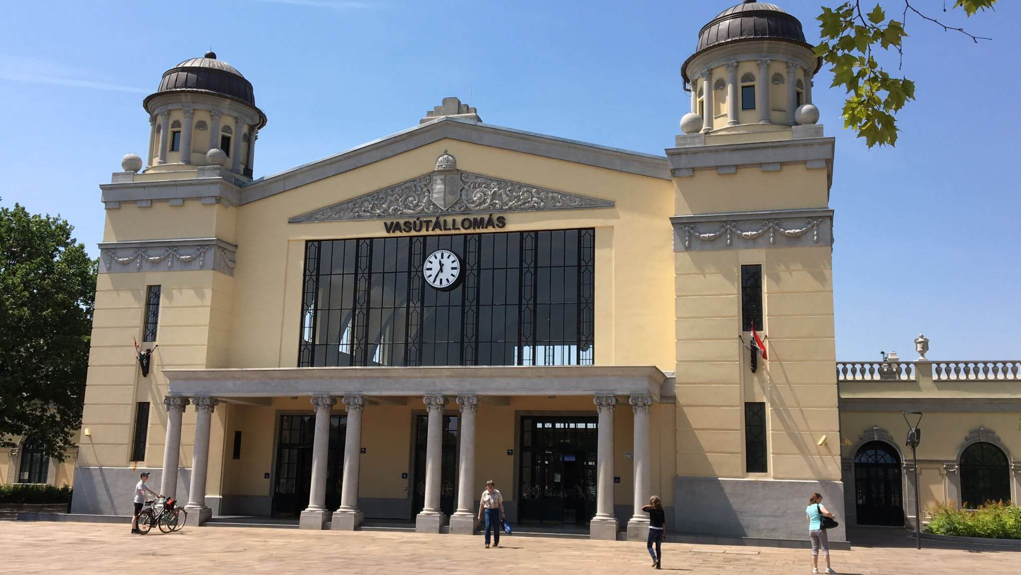 Train Terminal in Bekescsaba, Hungary