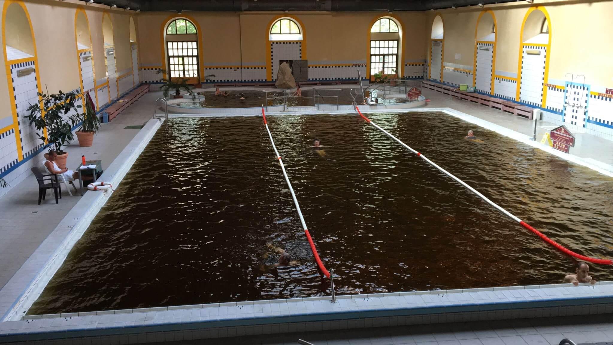 Hot Water Spa in Gyula, Hungary