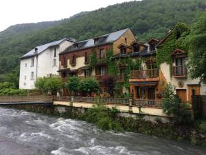 The River in Aulus les Bains