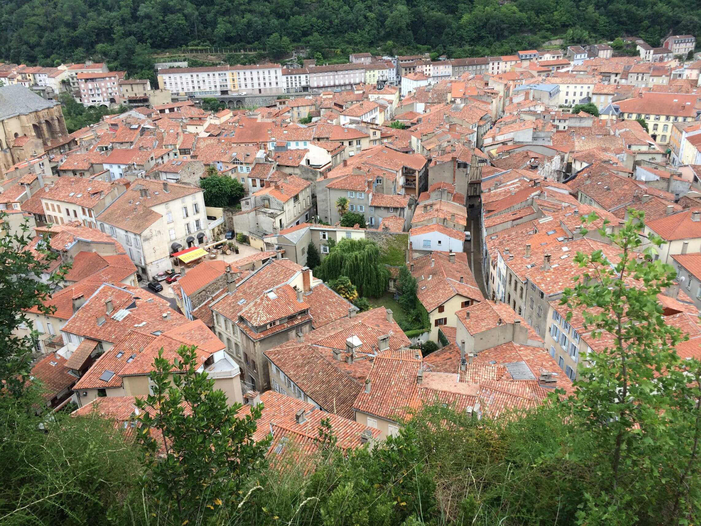 Foix from Above