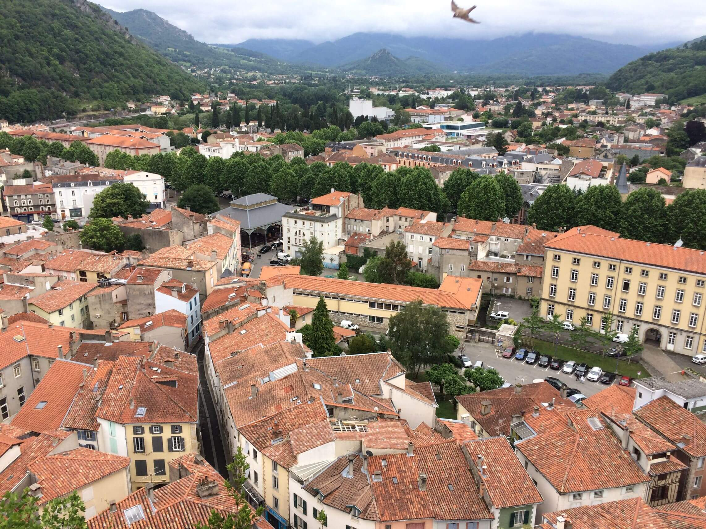 Foix Medieval View Point