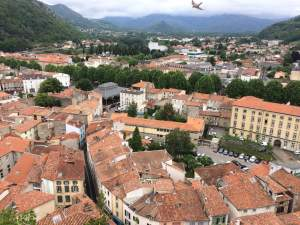 The City of Foix from the Castle