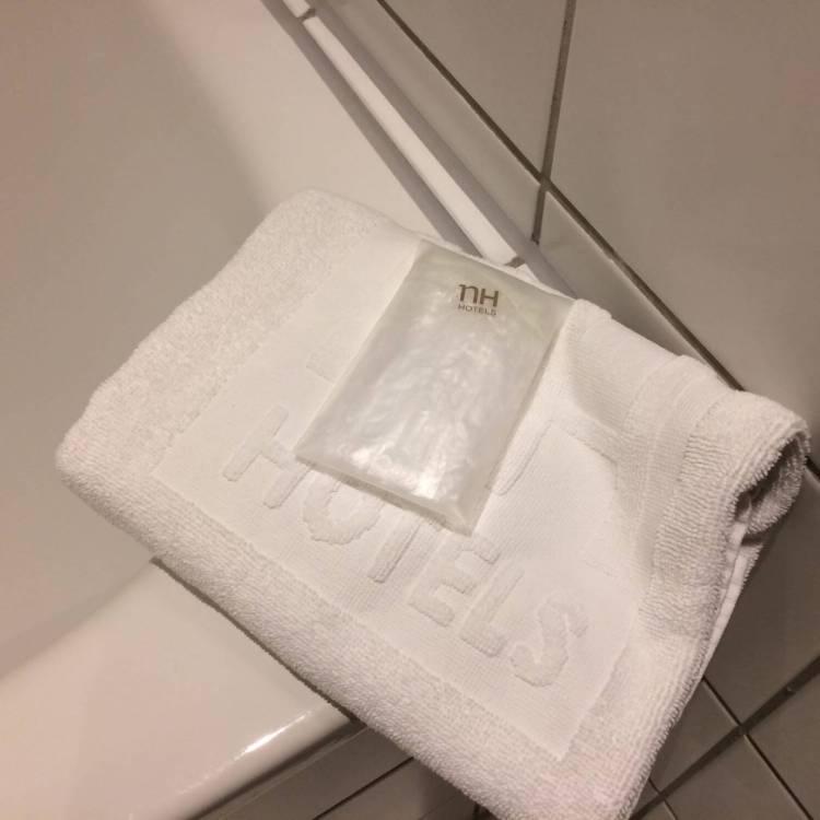 The floor towel