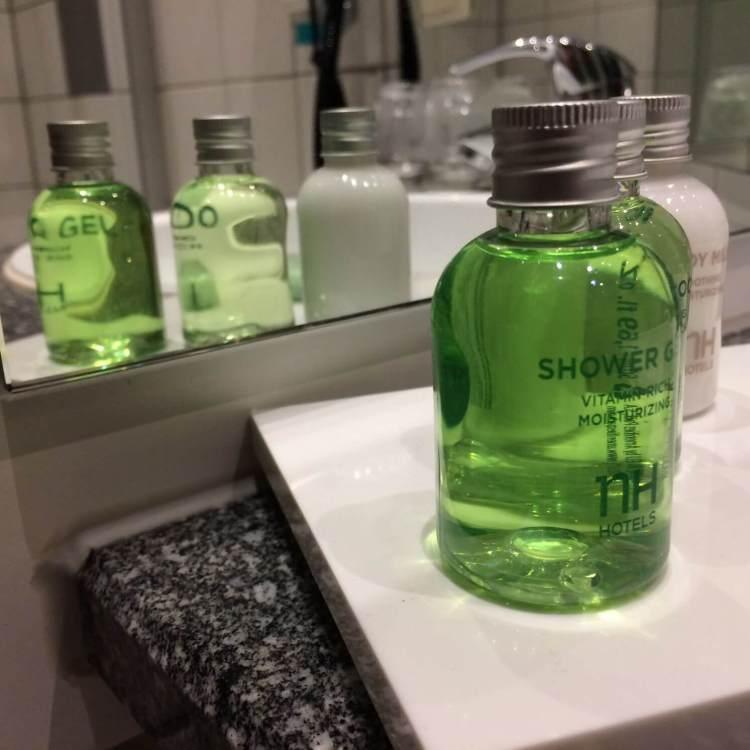 My favourite hotel shower gel
