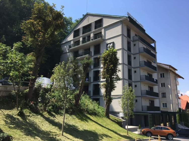 The Belfort Hotel in Brasov, Romania