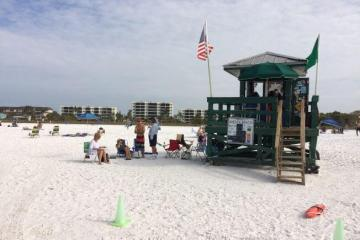 Siesta Key Beach in Florida