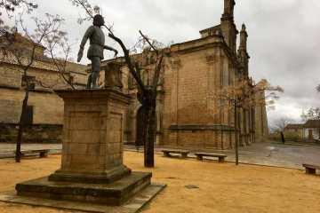 Statue in Ubeda