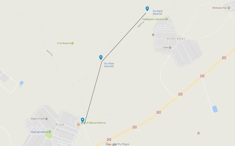 Nahal El Al Map