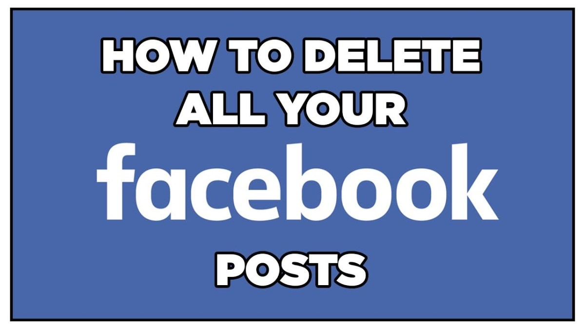 how to delete facebook posts from timeline