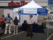 participants outside AutoSpa at Solarize Mercer Island