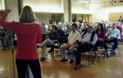 Full House at Solarize Mercer Island workshop