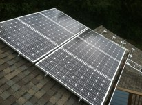 solar panels on roof in Mukilteo