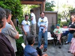 participants at solar celebration