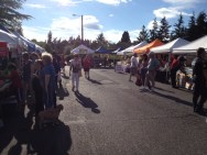 Participants at Lynnwood Farmer's Market