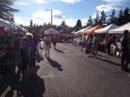 Participants at Lynnwood Farmer's Market