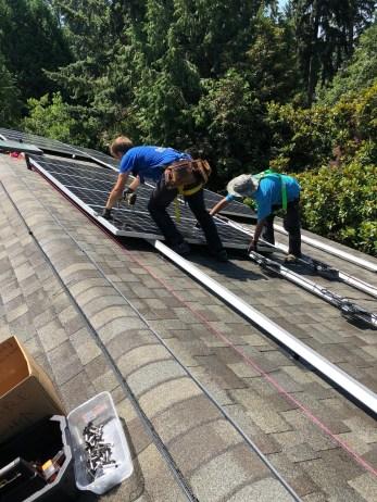 Issaquah solar installations