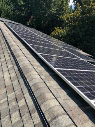 Issaquah solar installation