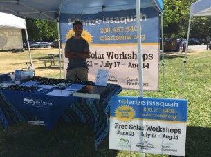 Solarize Issaquah outreach event