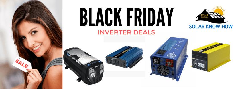 Black Friday inverter deals