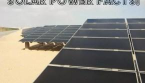 solar energy facts solar power facts