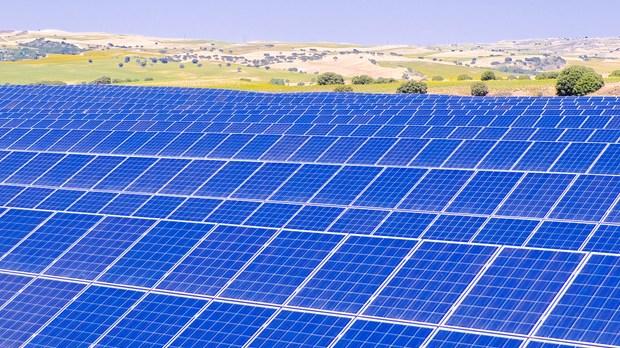 Solar power plant using Yingli solar modules. Image Credit: Yingli Solar