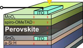 tandem solar cell schichtaufbau