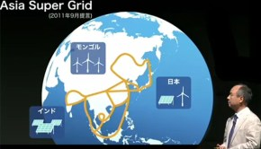 Global energy grid