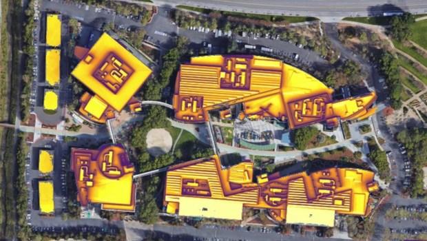 Google rooftop solar tool