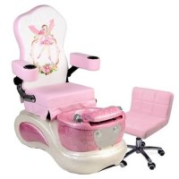 Kid Spa Chair - Pink, Solar Nails Warehouse
