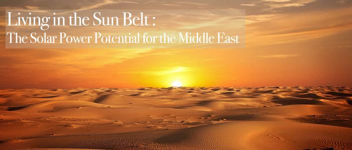 Global Sun Belt - Solar - Middle East - SolarOne - Bahrain