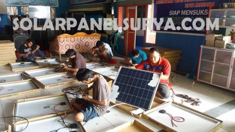 solar cell lampu jalan