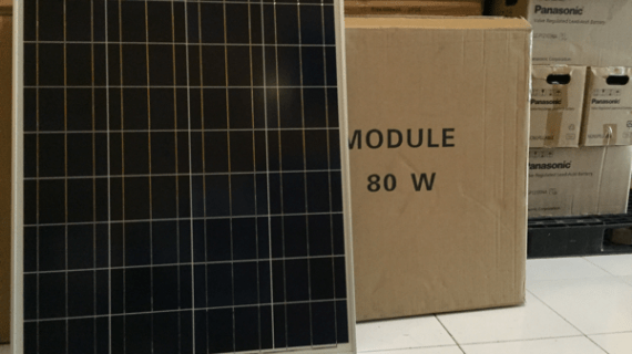 Solar panel 80WP POLYCRISTALINE
