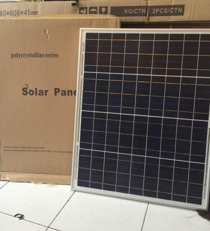 jual solar cell 50wp harga termurah