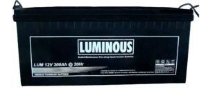 Aki VRLA Luminous 12v 200ah