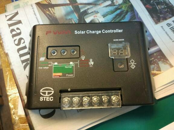 Jual PWM Solar charger Controller STEC
