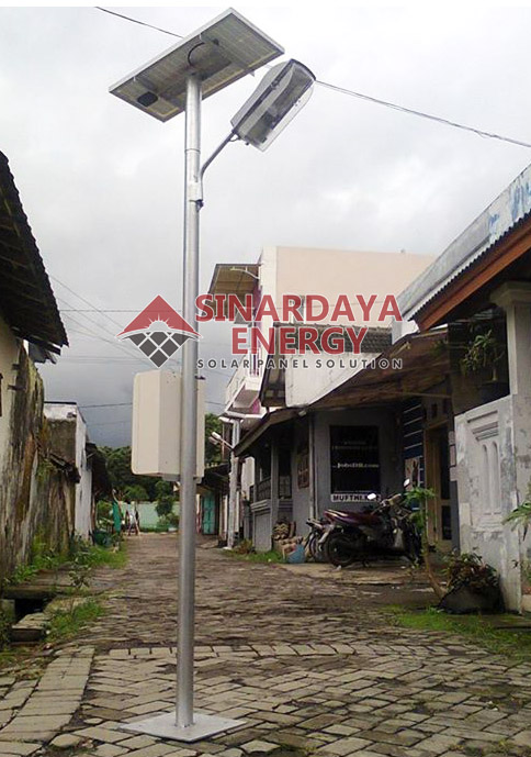 Harga Paket Lampu jalan Tenaga Surya PJU