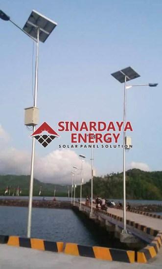 Jual PJU Tenaga Surya Solar Cell Ambon