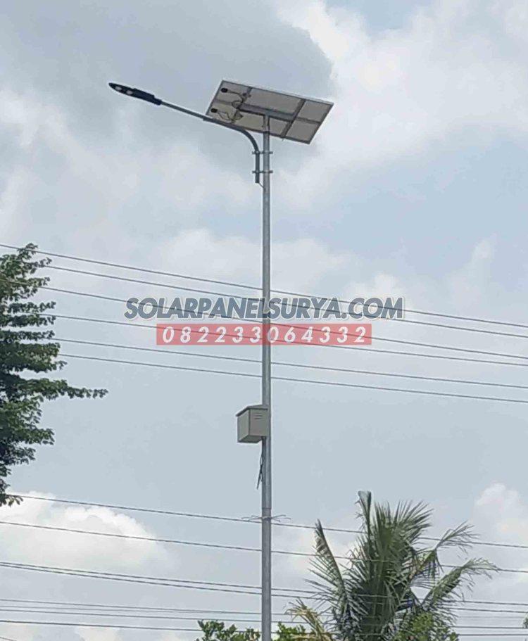 PJU Solar Cell 40 watt Lampu PJU Tenaga Surya LED 40w