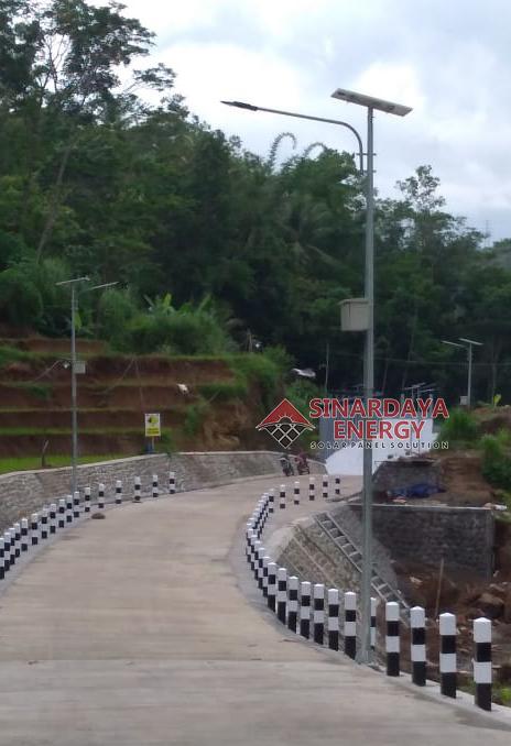PJU Solar Cell 80 watt Lampu PJU Tenaga Surya LED 80w