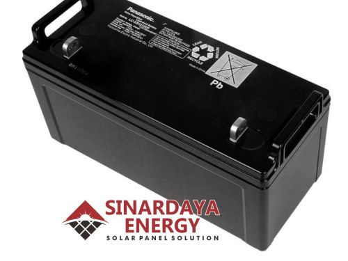 harga baterai panasonic 12v 120ah LC-P12120P